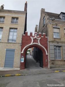Entrée Motte Castrale Saint-Omer_GF