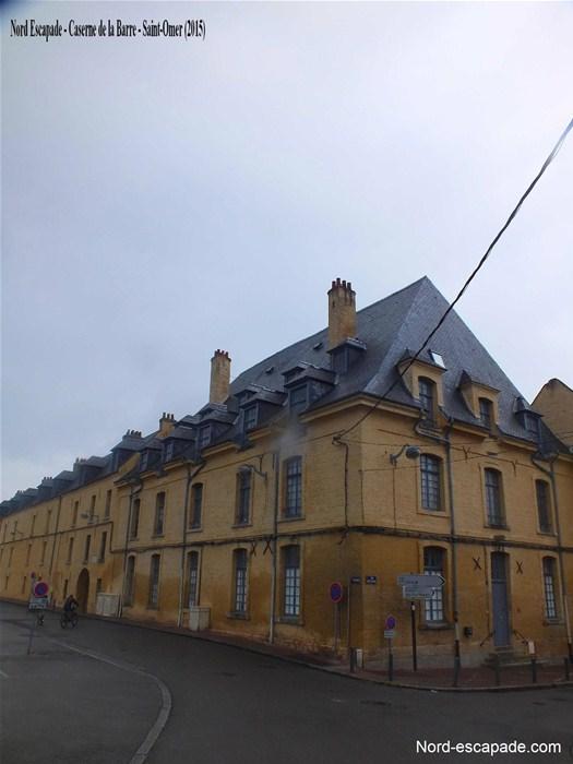 photo caserne St Omer construite sous Vauban