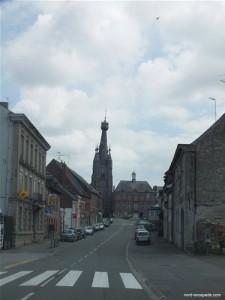 Le clocher penché de Solre-le-Château