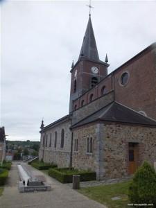Eglise d'anor et source symbolique