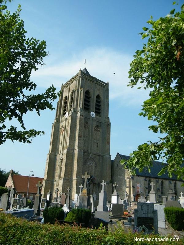 L'église de Rubrouck