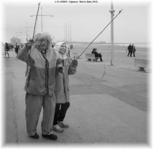 Photographie de figuemen durant le carnaval de Dunkerque