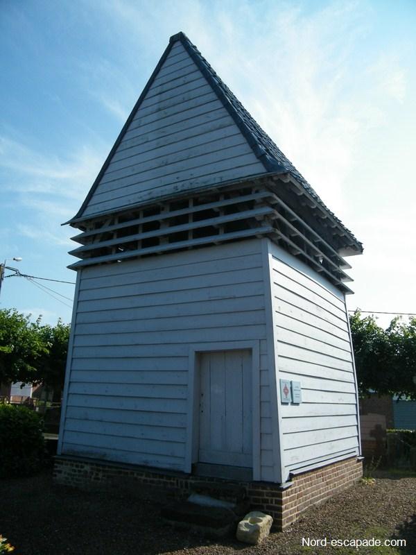 Photo du Klockhuis à Hardifort, près de Cassel, Maison des cloches