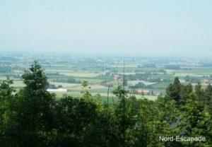 La plaine Flamande vue du Mont Cassel
