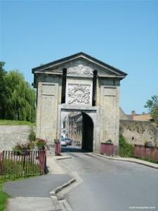 Photo porte de bergues ville fortifiées