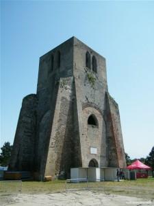 La Tour carrée de l'Abbaye Saint-Winoc de Bergues