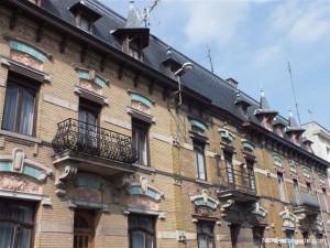 Une ancienne façade de Douai.
