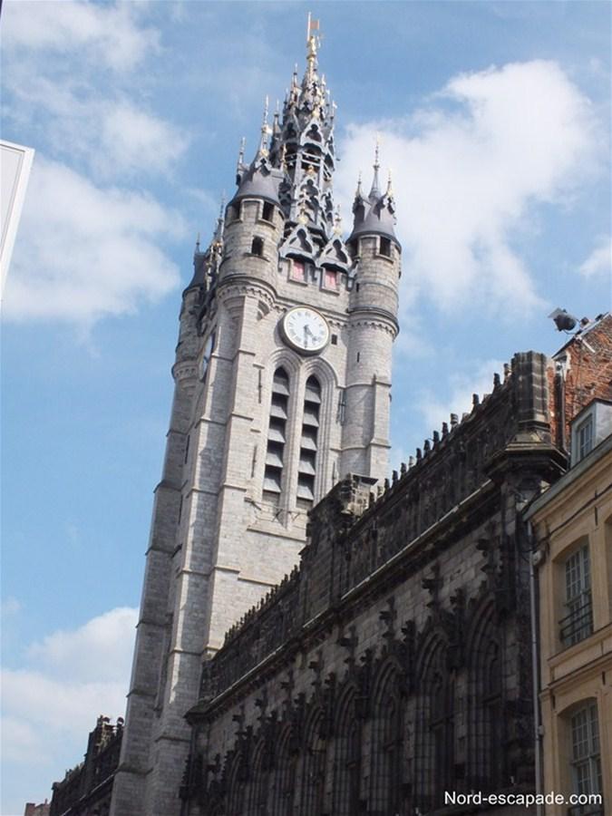 Photographie du beffroi de Douai