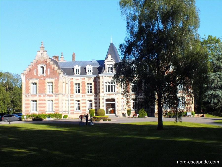 Photographie du chateau de Tilques