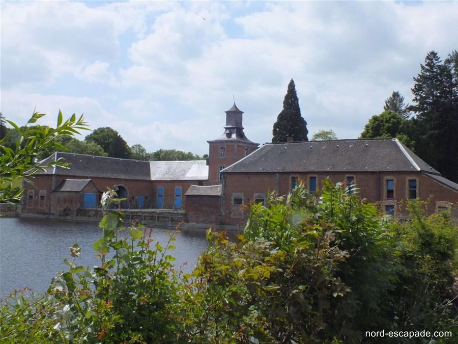 Le château de la Motte Liessies