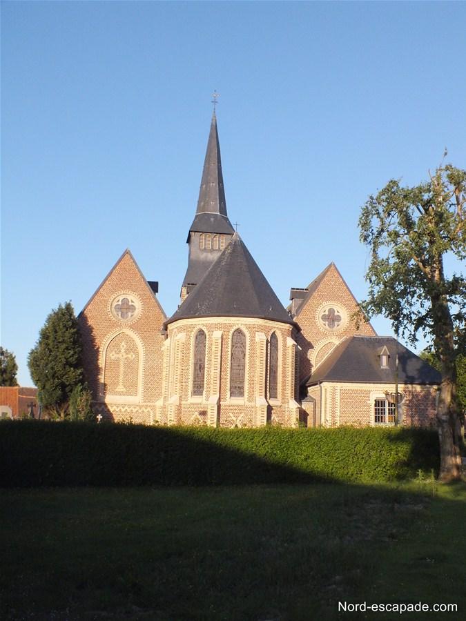 Photographie de l'église de Terdeghem