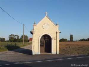 Photographie d'une chapelle à Terdeghem
