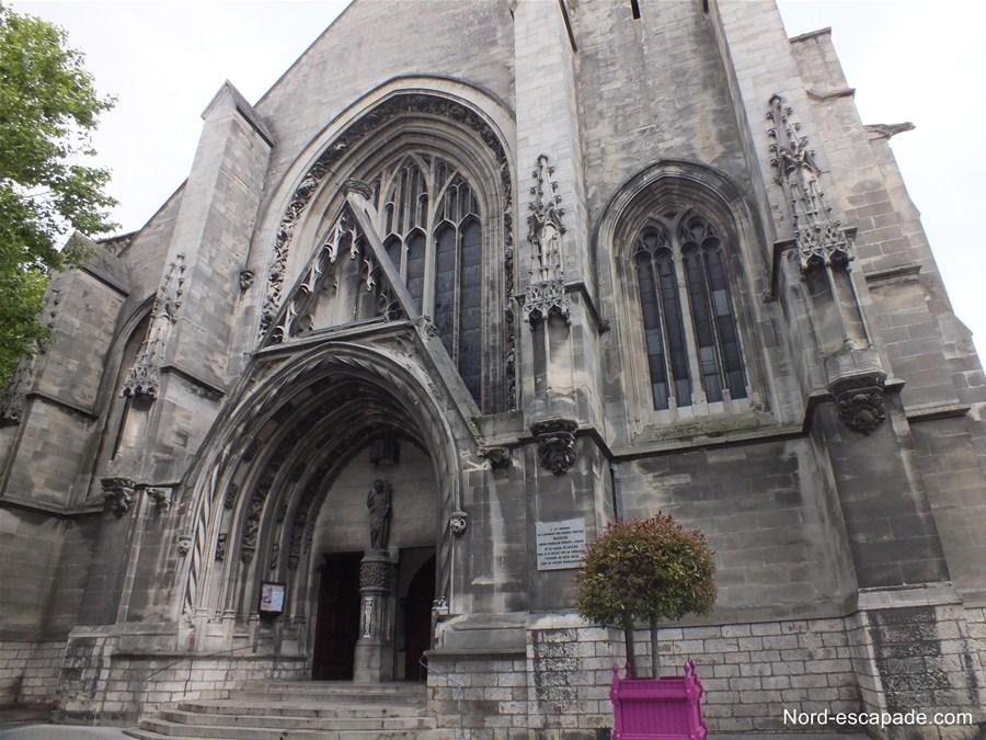 Photographie extérieure de l'église Saint-Jean Baptiste d'Arras