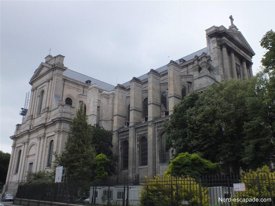 Photographie de la cathédrale Saint-Vaast à Arras