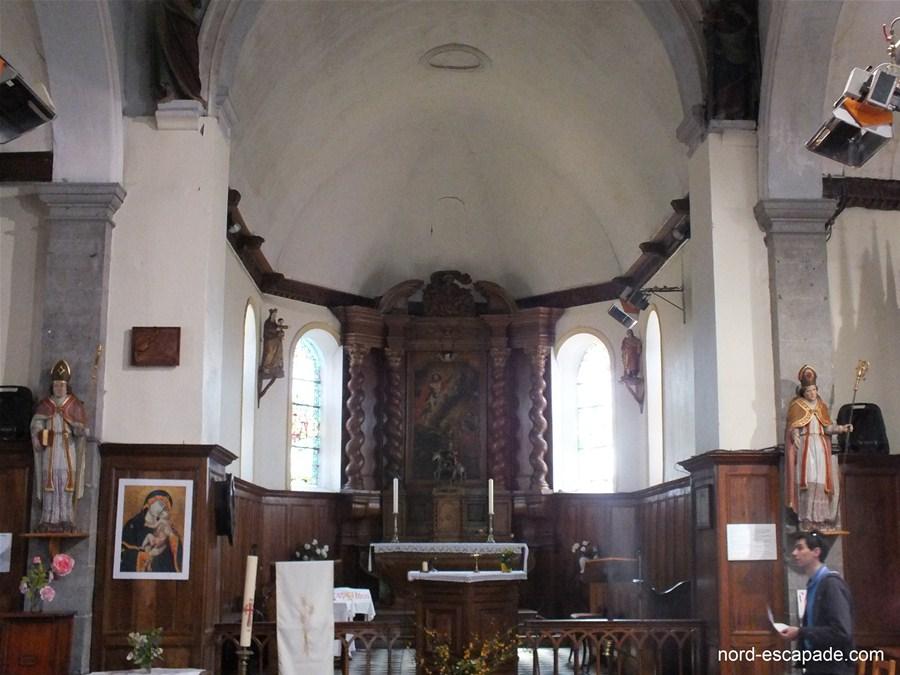 Eglise de Marbaix - Intérieur