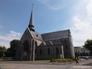 Eglise Notre-Dame de Douai, datant du XIIème siècle.