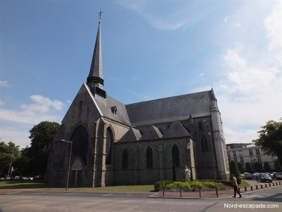 Photographie de l'église Notre-Dame de Douai
