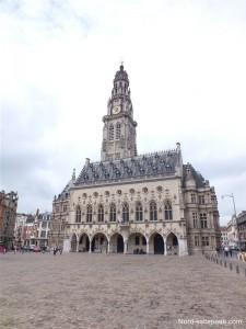 L'hôtel de ville et le Beffroi d'Arras
