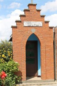 Photographie de la chapelle Verhaeghe à Houtkerque.