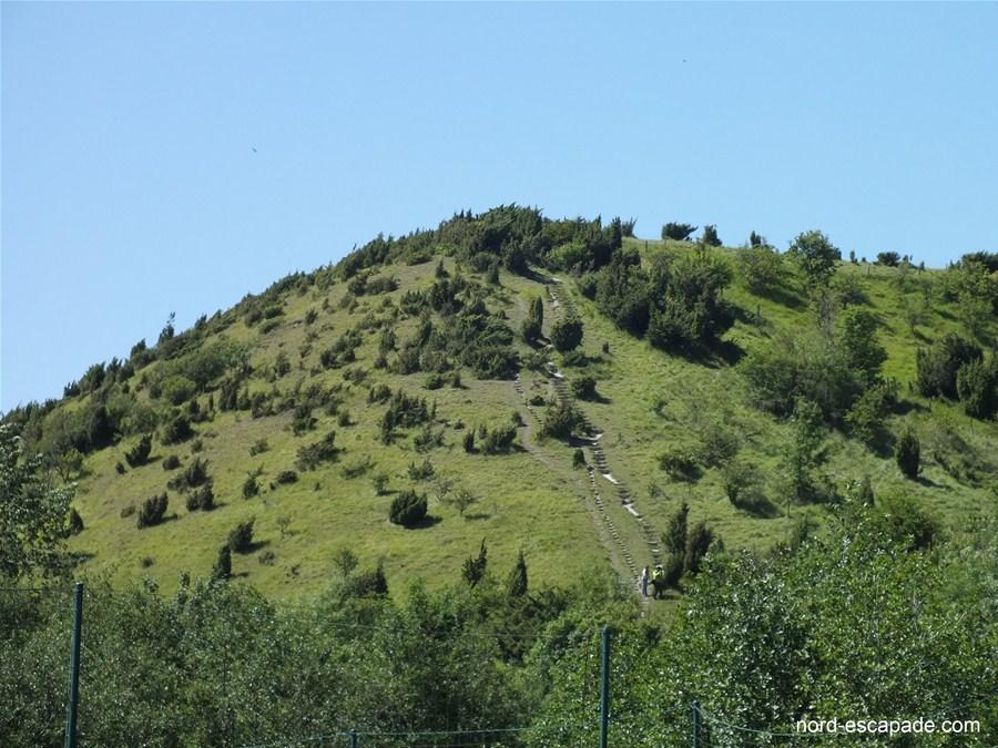 Photographie du coteau de Wavrans-sur-l'Aa