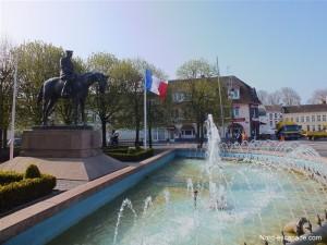 La statue Équestre du Maréchal Haig