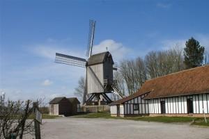 Photographie du moulin de la Roome à Terdeghem