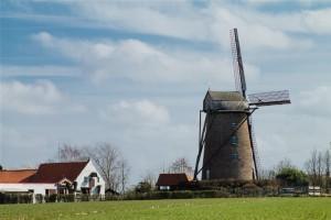 Photographie du SteenMeulen, moulin de Terdeghem