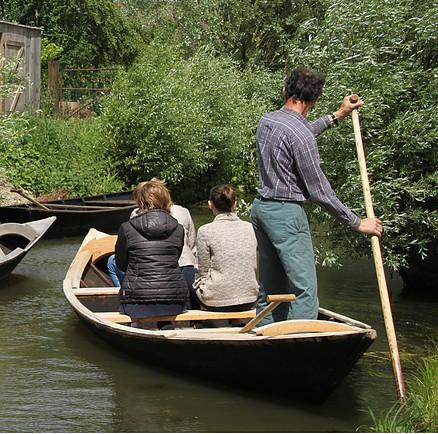 Visite guidée Marais audomarois - Faiseurs de bateaux