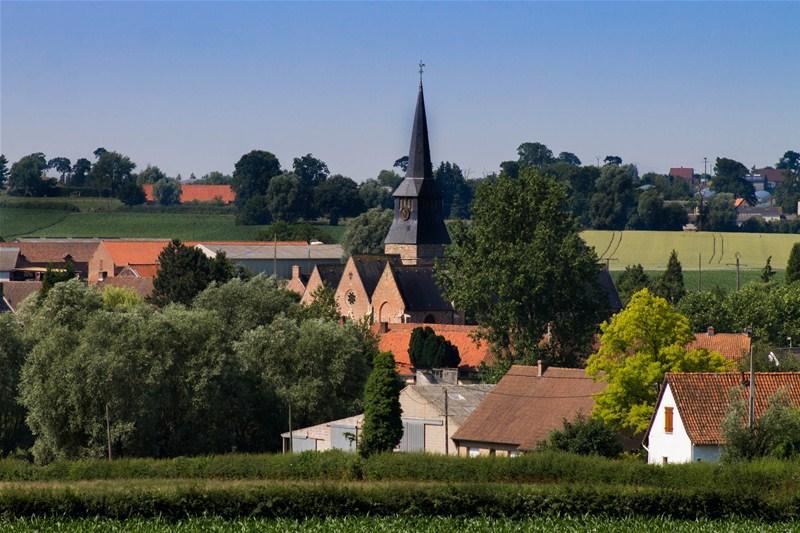 Photographie du village de Terdeghem