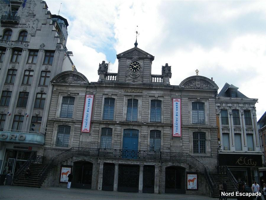 Ancien corps de garde de Lille, aujourd'hui théâtre du Nord