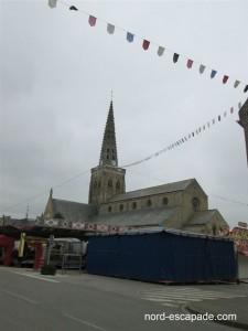 Photo image de l'église de Bollezeele