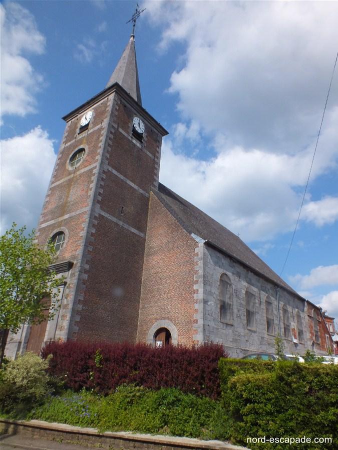 L'église de Trélon
