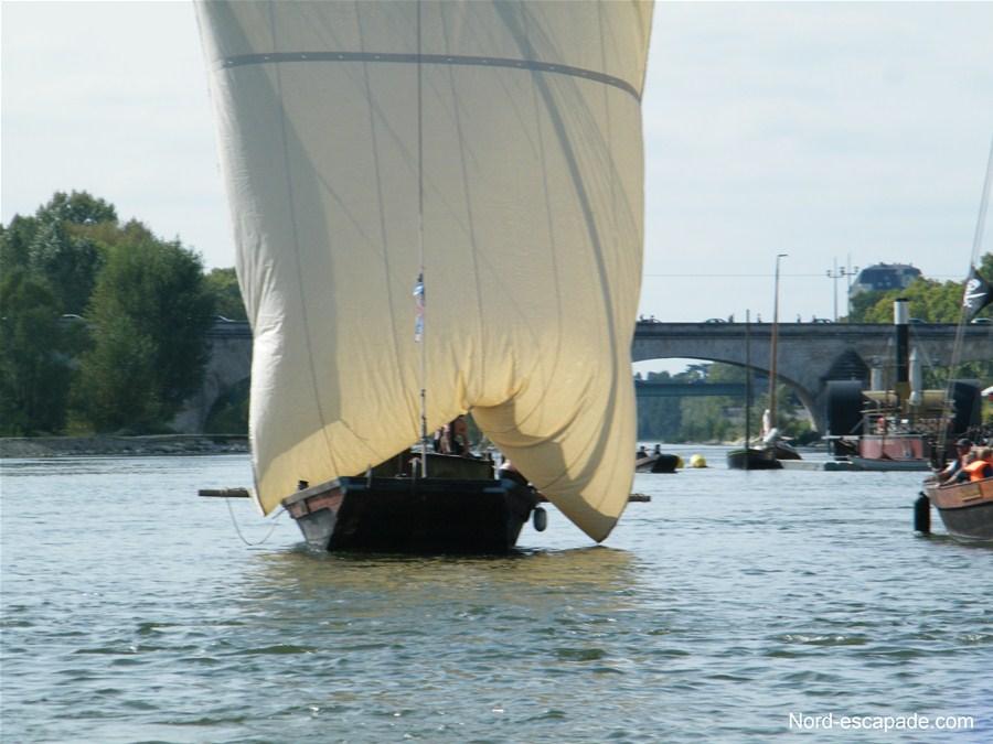 Des bateaux majestueux