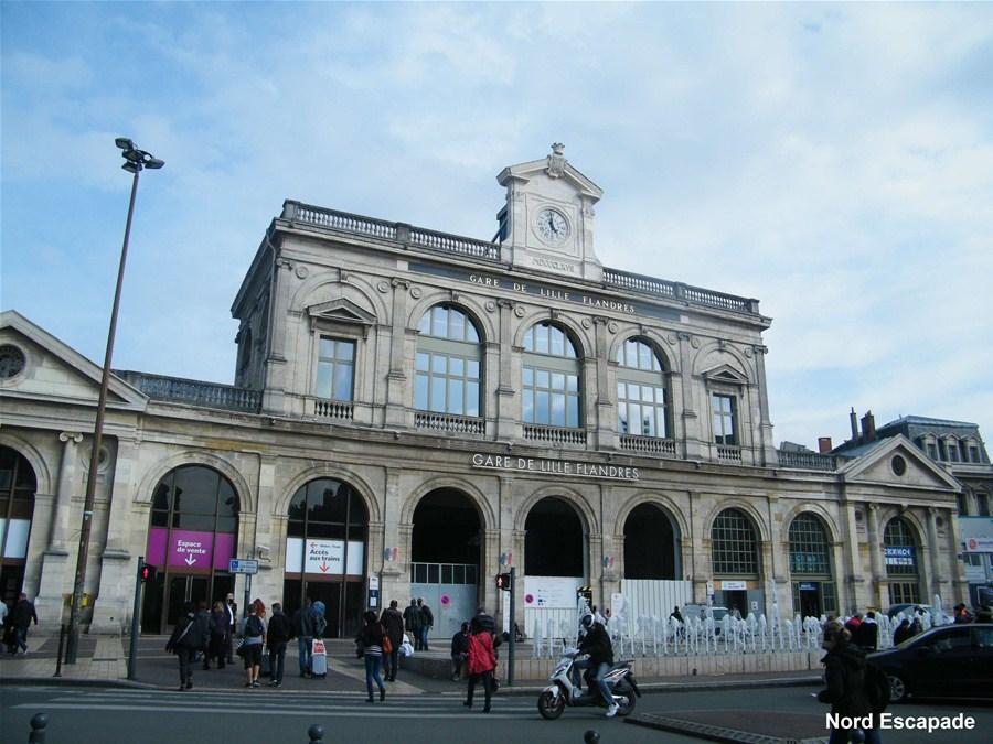 Gare lille flandres histoire de l 39 ancienne gare paris nord for Lille capitale des flandres