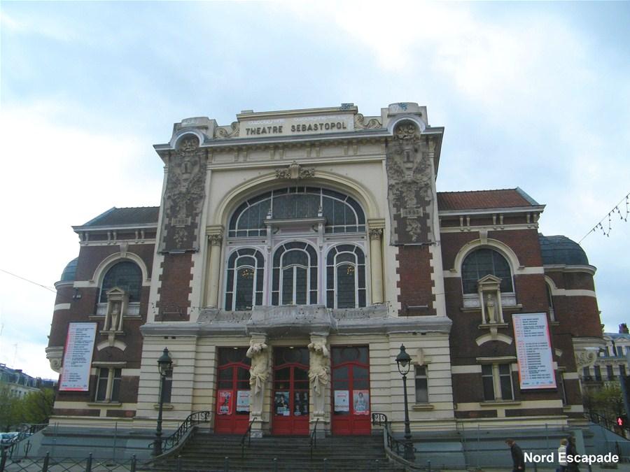 Le théâtre Sébastopol de Lille