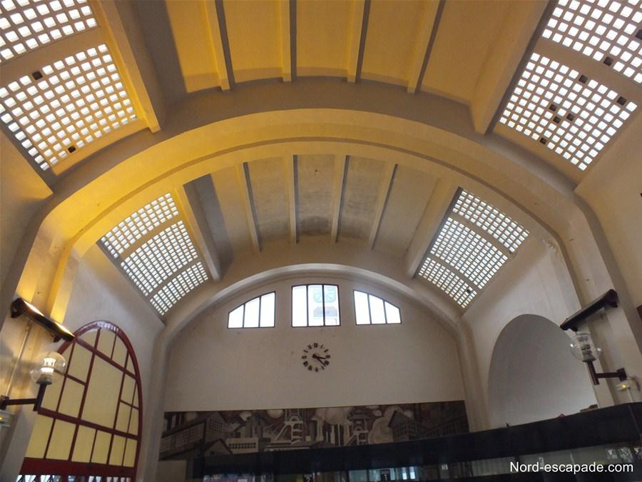 Intérieur de la Gare de Lens