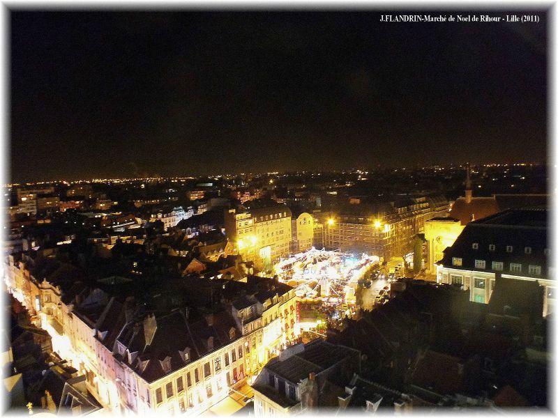 Lille, le marché de Noel Place Rihour