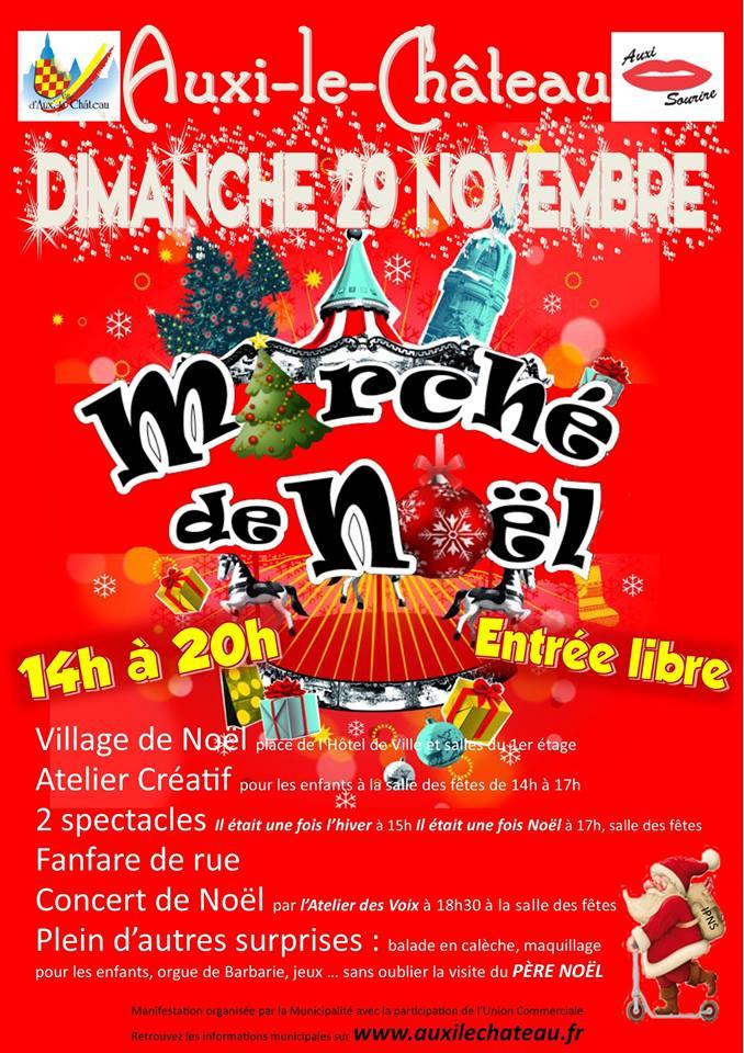Marché de Noel Auxi-le-Chateau
