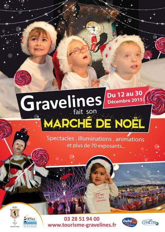 Marché de noel de Gravelines