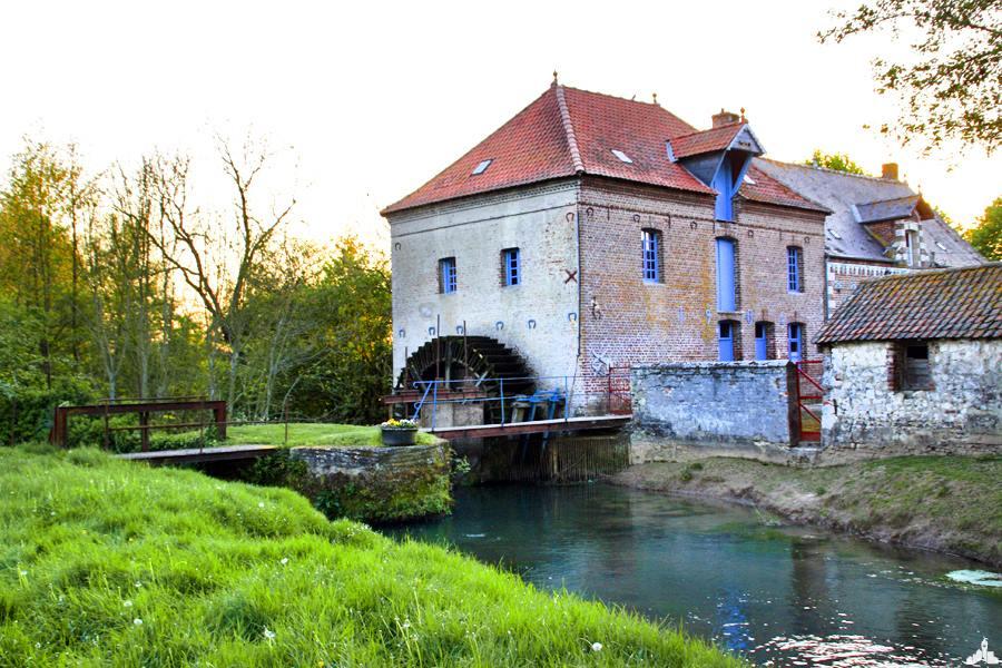 Le moulin de la Bleuence