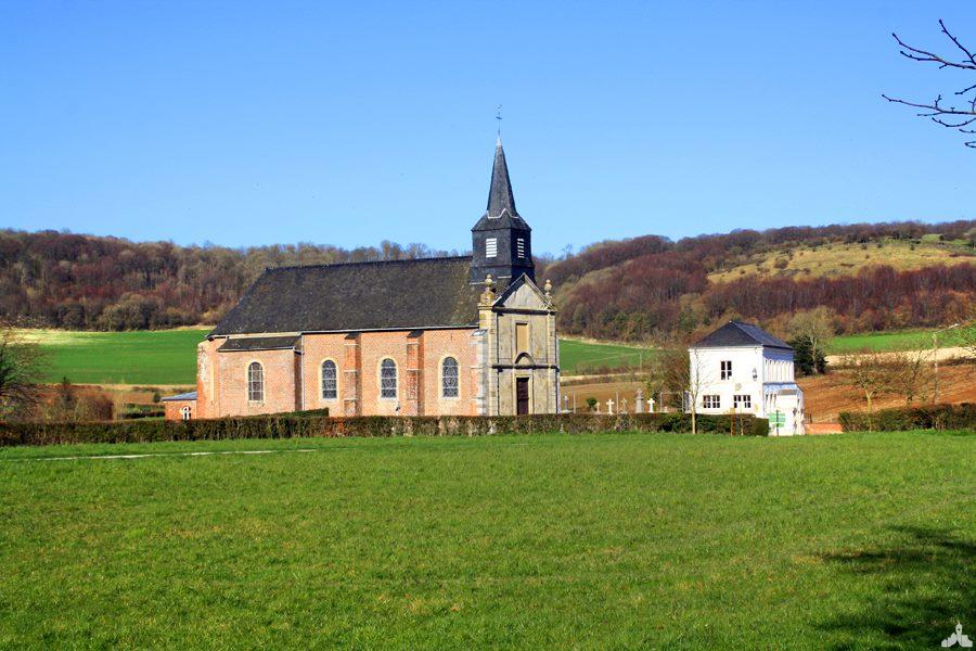 église Saint Nicolas Colembert - Les Plus beaux villages du Nord-Pas-de-Calais - Nord Escapade