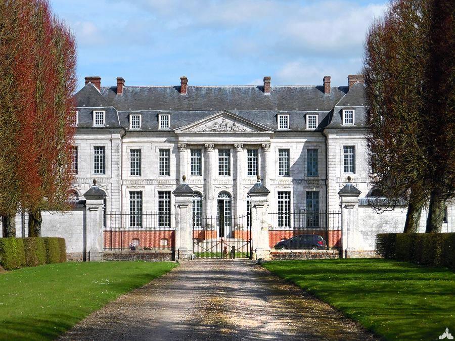 Le château de Varlemont à Barly