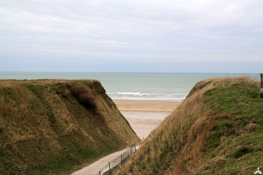 Photo du cran d'escalles, plages du cap blanc Nez