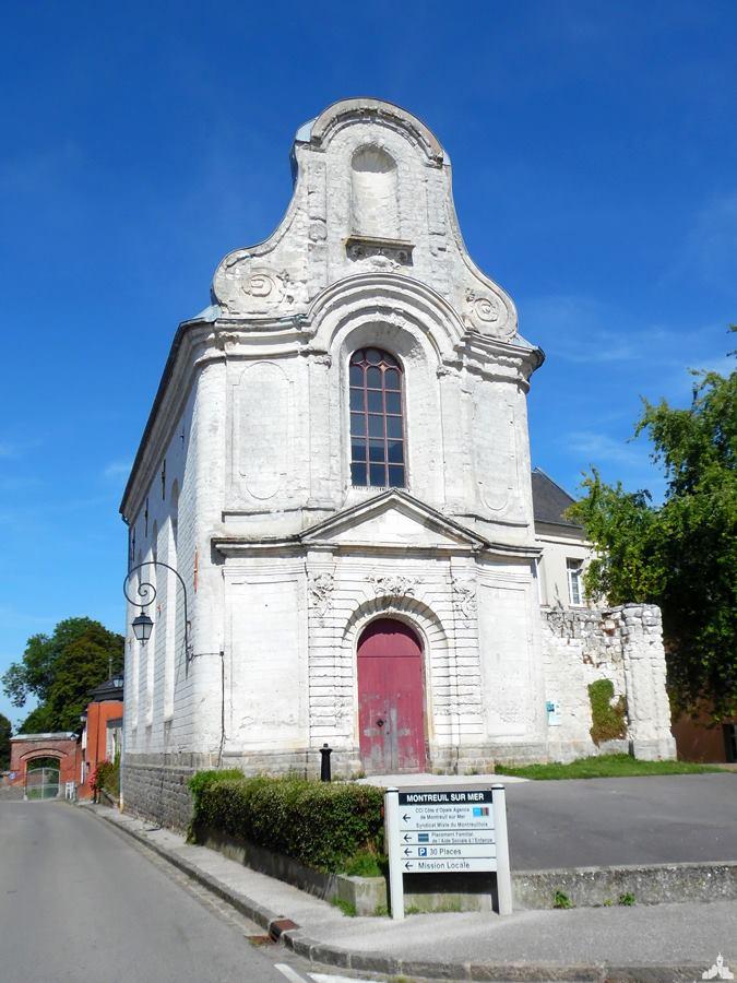 La chapelle Sainte Austreberthe de Montreuil-sur-Mer