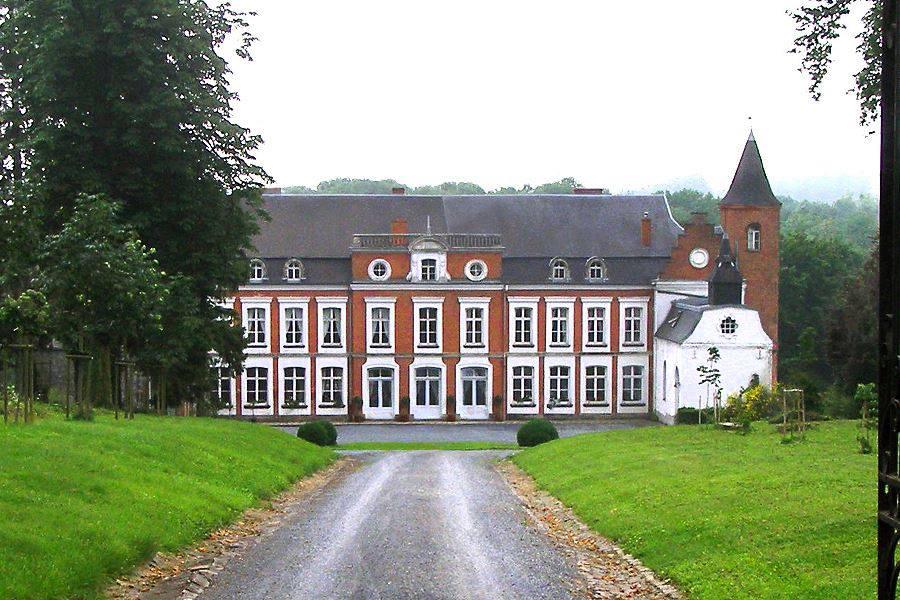 Le château de Gussignies
