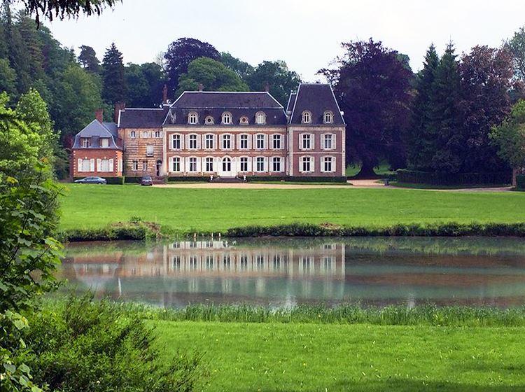 Le château de Verchin