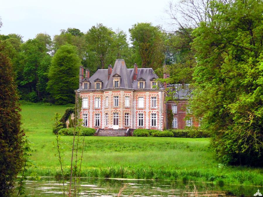 Le château de la Calotterie, près de Montreuil-sur-Mer