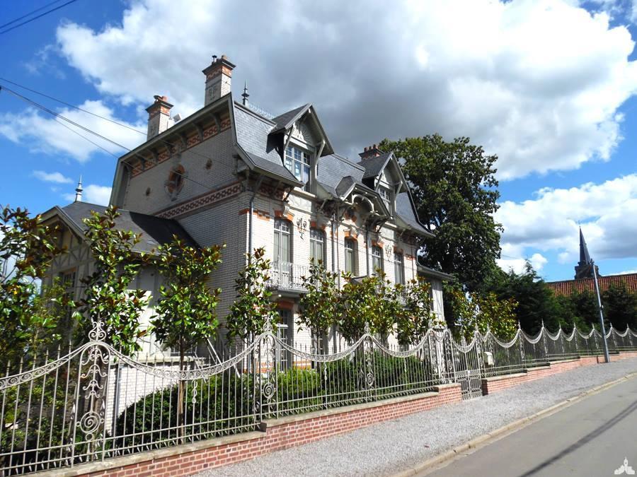 Le château de la Fontaine à Mons-en-Pévèle