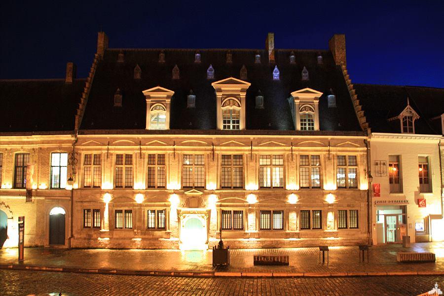 Photo de l'ancienne câtellerie de Cassel, l'hôtel de la Noble Cour