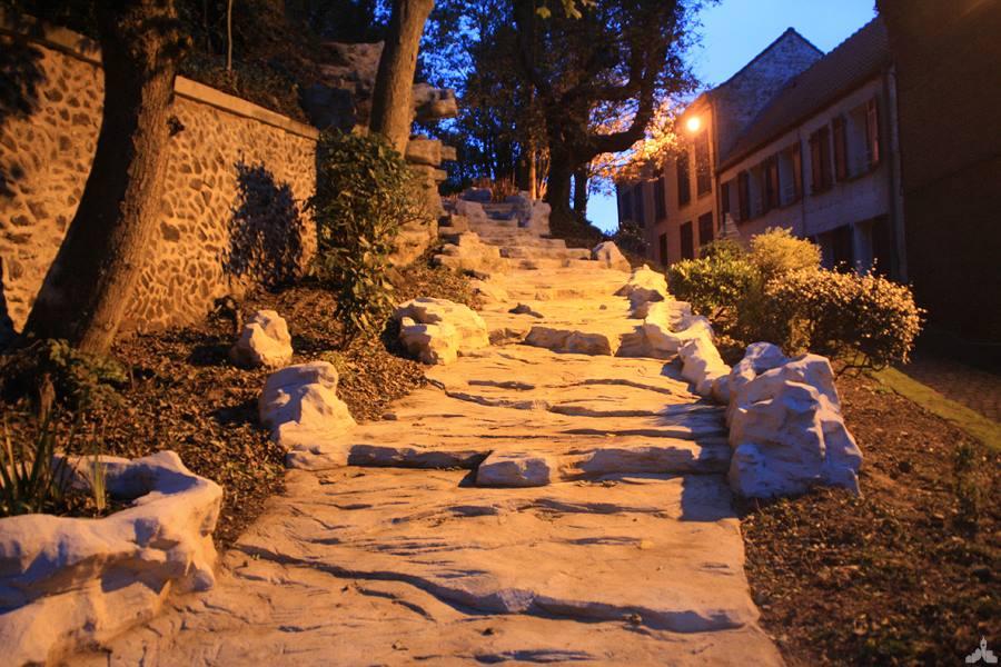 La rampe alpine du Mont Cassel
